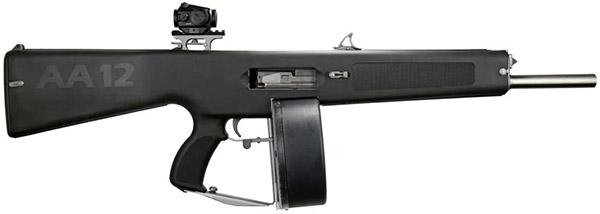 AA-12 вид справа