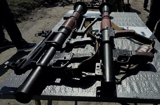 РПГ-М7 (слева) и РПГ-7 (справа)