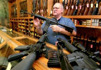 В США резко возросли объемы продаж огнестрельного оружия