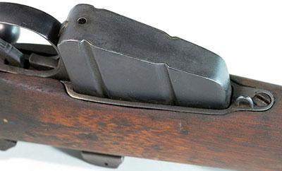 Вид на магазин винтовки No.4 Mk I снизу