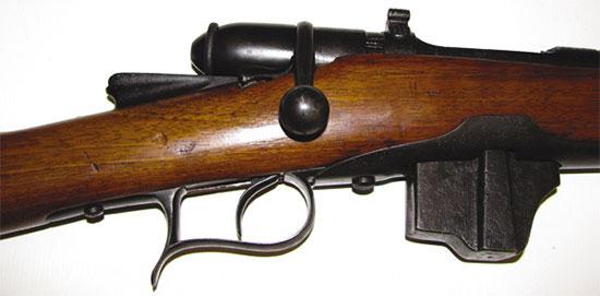Итальянская винтовка системы Веттерли — Витали образца 1887 года, прошедшая реставрацию