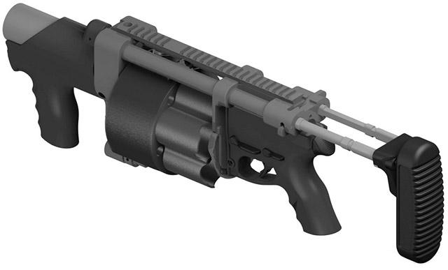 Изображение прототипа 40-мм гранатомёта HK369