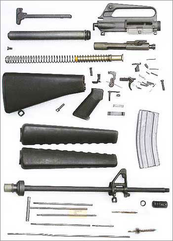 5,56-мм автоматическая винтовка Colt M16A1