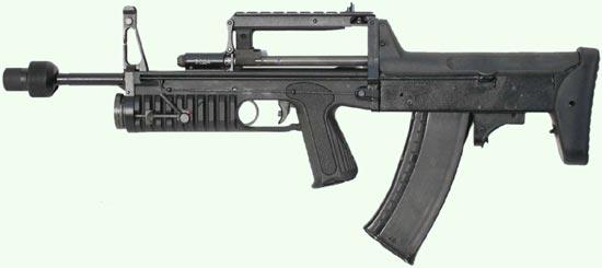 АДС с насадкой для холостой стрельбы