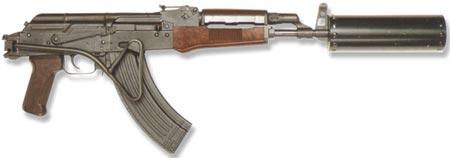 MPi-KMS-K с установленным глушителем