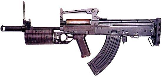 штурмовой автомат «Гроза-1» с гранатометом