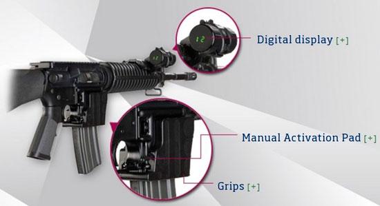 Цифровой счетчик патронов для AR-15