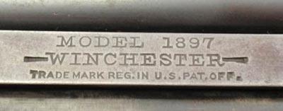 клеймо Winchester M1897