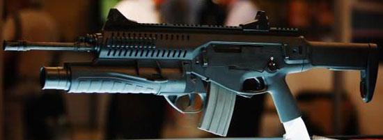 штурмовая винтовка ARX-160 с установленным гранатометом GLX-160