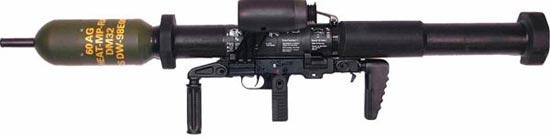 Panzerfaust 3 в варианте Bunkerfaust 3