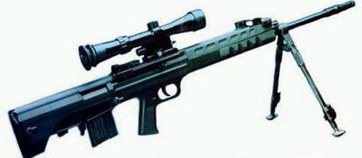 Китайская 5.8-мм самозарядная снайперская винтовка Тип 88