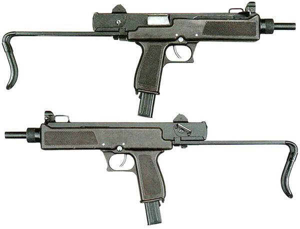 Ранняя модификация АЕК-919: вид справа и вид слева
