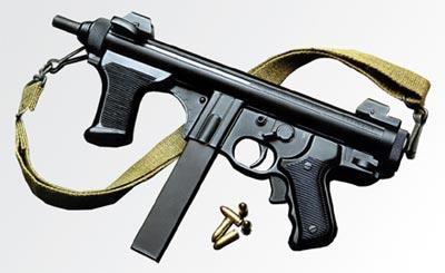 9-мм итальянский пистолет-пулемет «Беретта» М 12