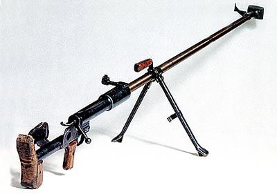 14,5-мм советское противотанковое ружье Дегёярева ПТРД обр. 1941 года