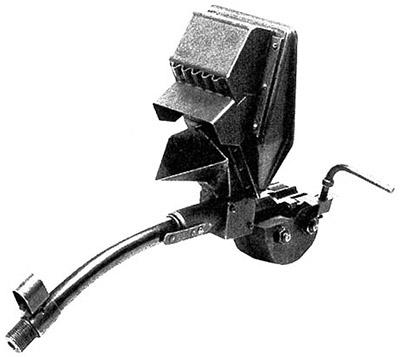 Искривленный на 45 град. ствол-насадка Vorsatz J с призматическим перископическим прицельным приспособлением