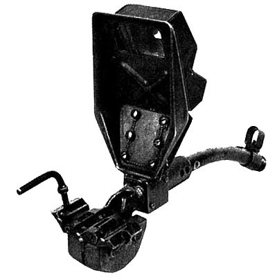 Ствол-насадка Vorsatz J, искривленный на 45 град. с призматическим перископическим прицельным приспособлением (вид сзади)