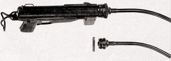 11,43-мм «танковый» пистолет-пулемет M3 с искривленным каналом ствола