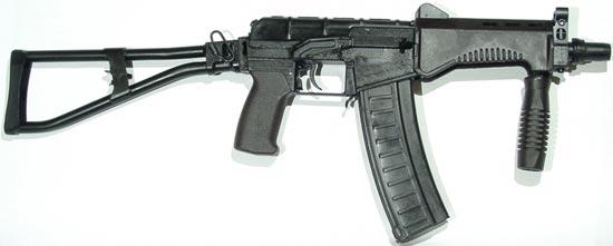 СР-3М с металлическим магазином емкостью на 30 патронов