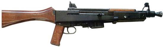 ранняя модель ТКБ-0116 с постоянным деревянным прикладом