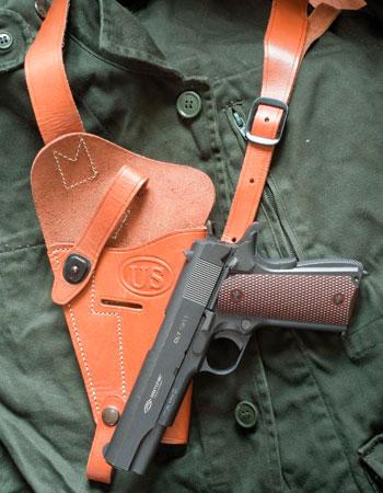 Пневматические пистолеты Gletcher CLT 1911 и SS GSR