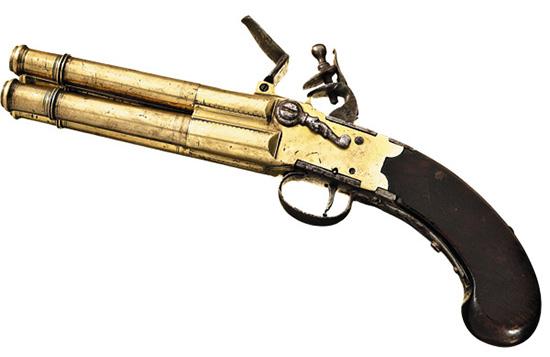 Достаточно важным было удобство в обслуживании дульнозарядного оружия. На некоторых многоствольных системах выкручивались стволы, пазы для ключа внутри стволов часто принимают за нарезы.