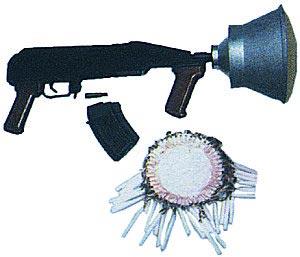 Сеточный обезвреживающий комплекс SZO-84 на базе ружейного гранатомета RWGL-3