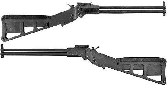 Rifle-shotgun survival cal .22/.410 M6