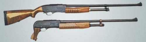 Именно эти помповые ружья под патрон 16х35, созданные на базе КС-23, подтолкнули вятско-полянских конструкторов на разработку помпового ружья, ныне известного как «Бекас»
