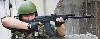 Отдача оружия при выстреле и образование угла вылета
