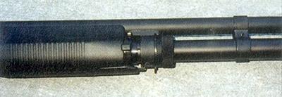 Переключатель режима работы М3 Super 90 в положении «помповое перезаряжание»