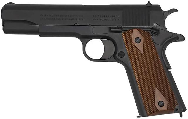 Обновленный пистолет 1911 Black Army