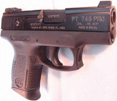 Taurus PT 745BP (3-е поколение)