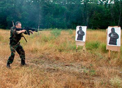 Положения для стрельбы стоя