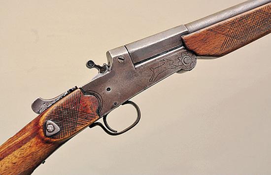 Первое одноствольное ружье Селала Йоллу, изготовленное им в 60-е годы прошлого века
