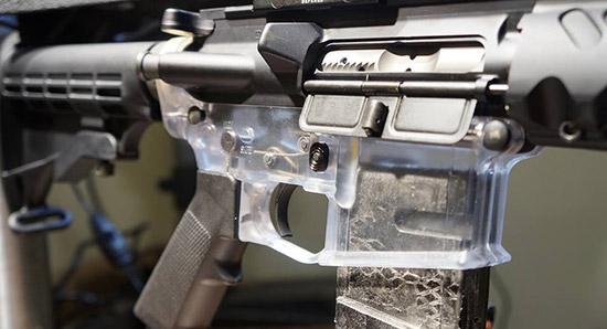 Прозрачная ствольная коробка от Tennessee Arms