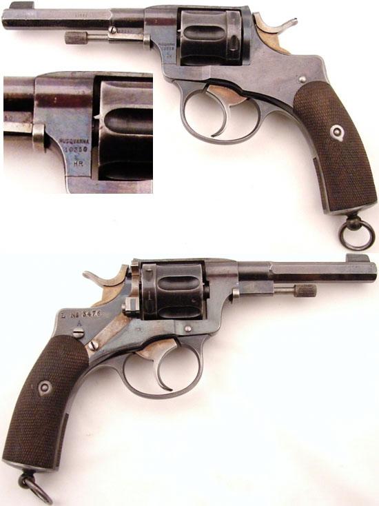 Nagant M 1887 производства HUSQVARNA