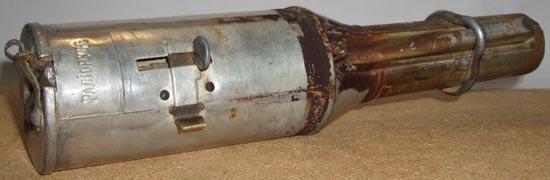 зажигательная (термитная) граната образца 1917 года
