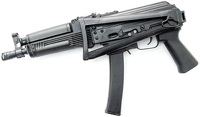Пистолет-пулемет «Витязь»