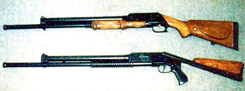 Охотничье помповое ружье «Рысь»