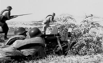 Штыковой бой. 1944 г.