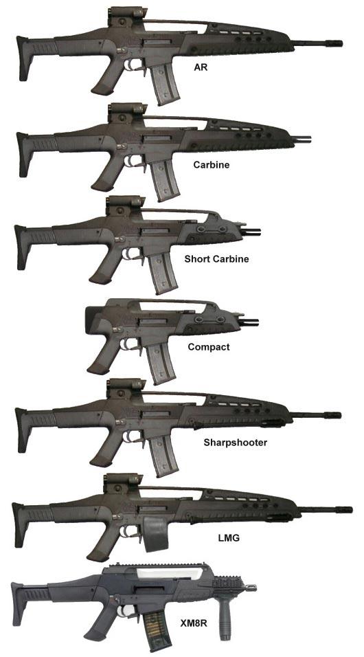ХМ8 в вариантах