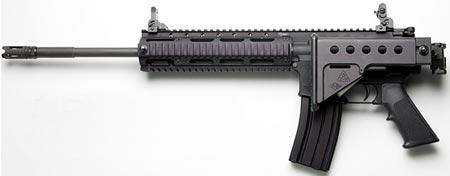 LR-300 ML длина ствола 419 мм приклад сложен