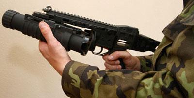 Гранатомет можно использовать и отдельно от винтовки