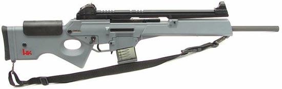 HK SL8 со стандартной прицельной планкой