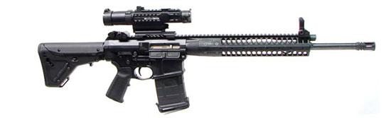 LWRC REPR «Designated Marksman Rifle» (DMR) с длиной ствола 18 дюймов