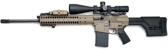LWRC REPR «Sniper Model» с длиной ствола 20 дюймов
