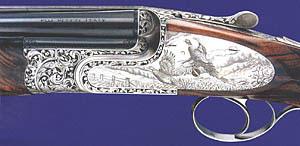 Бонфлинт на основе системы «Босс», украшенный гравером из «Криейтив арт» Джованни Стедуто