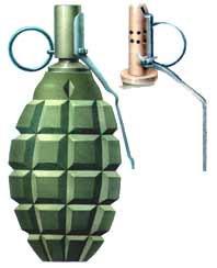 Советская ручная граната Ф-1