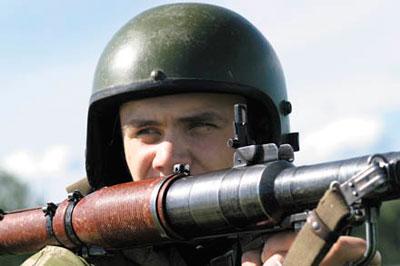 Стрельба из ручных противотанковых гранатометов РПГ-7