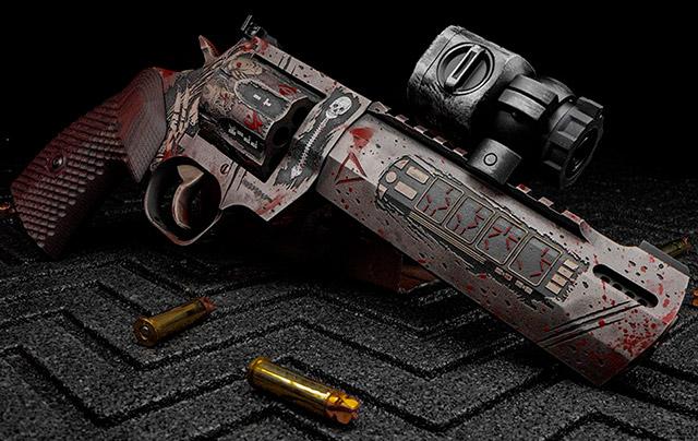 Револьвер Taurus Raging Hunter Predator калибра .<a href='https://arsenal-info.ru/b/book/64323040/375' target='_self'>357 Magnum</a>